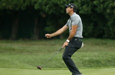 This superb 74-foot putt has boosted Jason Day's US PGA chances