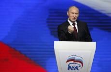 Vladimir Putin tells West not to interfere in Russian politics