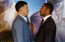 GGG describes Brook as his 'biggest test' as they come face-to-face in London