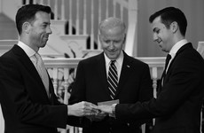 Everyone is loving this photo of Joe Biden marrying a same-sex couple in his house