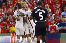 Razor-sharp Roma edge Liverpool in St Louis