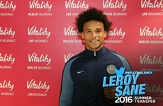 €42m Germany winger Sane becomes Man City's biggest signing of the summer