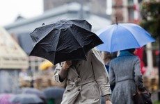 Gale force winds and thundery showers ahead before sunny weekend