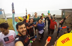 Thousands of people signed up for 'Ireland's largest water fight'... Here's how many showed up