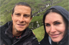 Courteney Cox ate a 'scrotum full of maggots' in the Irish wilderness... It's the Dredge