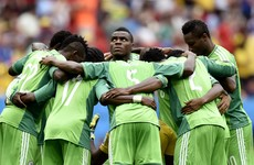 Stranded! Their Olympic opener is tomorrow but the Nigerian football team are in Atlanta