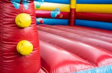 Nine children wounded after inflatable slide breaks free in the UK