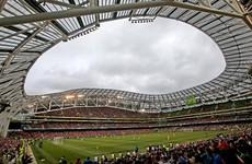 Aviva Stadium will host Dundalk's Champions League play-off