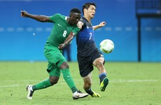 They arrived in Brazil hours before but Nigeria conjured a remarkable Olympics result last night