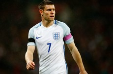 Liverpool midfielder Milner retires from England duty aged 30
