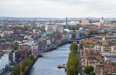 Dublin Fire Brigade has rescued two people who went for a swim in the Liffey
