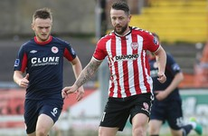 Saints cancel out early Patterson goal at the Brandywell