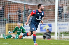 Sadlier slams in two as Sligo Rovers rout Wexford Youths
