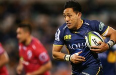 Brumbies centre Lealiifano diagnosed with leukaemia