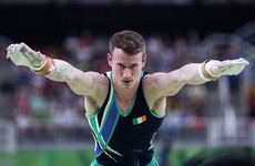 Kieran Behan dislocated his knee on first tumble of routine, carried on and finished anyway