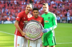 Can Rooney play with Ibrahimvoic and other Community Shield talking points