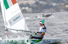 Annalise Murphy enjoyed the best possible start to her race week in Rio