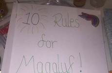This girl's intense rulebook for her boyfriend going to Magaluf is going viral