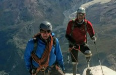 British man who lost his hands and feet 17 years ago climbs Matterhorn