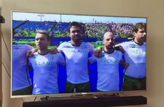 Mixed reaction to Irish hockey team singing the national anthem acapella