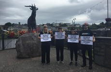 Scaled-down protest at Puck Fair after alleged threatening calls to activists