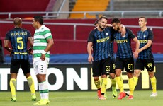 Half-full Thomond Park crowd sees Inter Milan overcome Celtic in drab encounter