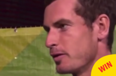 Andy Murray shot down a BBC reporter who seemed to forget women play tennis