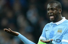 Yaya Toure's Man City future in doubt after being left out of Champions League squad