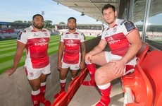 Ulster's new signings Piutau, Coetzee and Ah You unveil province's new European kit
