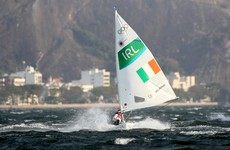 Annalise Murphy will be guaranteed a medal if the sailing is cancelled again tomorrow