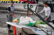 Victory for McGovern and Seaton clinches spot in 49er medal race