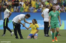 Heartbreak for Marta and Brazil as Swedish women win semi-final on penalties