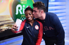 Simone Biles finally met her crush Zac Efron and it was glorious... it's the Dredge