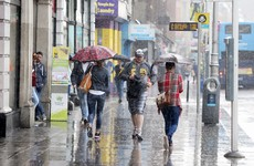 There could be some flooding tomorrow as it lashes rain