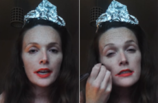 This comedian's Rose of Tralee makeup tutorial is brilliantly cynical