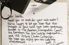 This jeweller's response to Ivanka Trump's order is going super viral