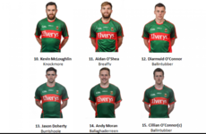 Mayo make single change for All-Ireland semi-final clash with Tipperary