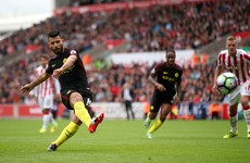 Aguero and Nolito on the double as City cruise past Stoke