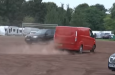 Hundreds of Irish Travellers have been accused of bringing chaos to a small town in Germany