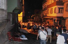 'Barbaric' bomb attack on Turkish wedding kills at least 50 people