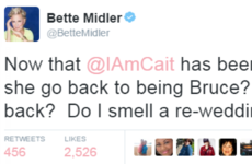 Bette Midler is under fire for this 'transphobic' tweet about Caitlyn Jenner