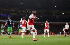 Arsenal's resources stretched further as Wenger lets striker leave for the season