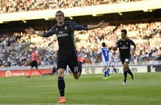No Ronaldo and no Benzema is no problem for Real Madrid as Bale stars in 3-0 win