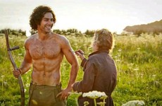 Aidan Turner is fed up with people talking about THAT topless scene... it's the Dredge