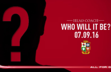 Who do you think will be the head coach for the Lions tour to New Zealand in 2017?