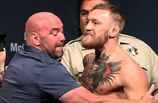 Dana White admits a lightweight title fight 'makes sense' for Conor McGregor