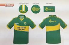 Kerry star leaks new jersey design on Twitter