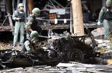 1 dead and dozens injured as car bomb explodes in Thai nightlife district