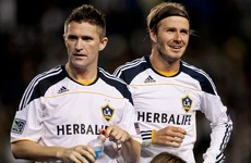 Beckham and Gerrard among those to pay tribute to Robbie Keane