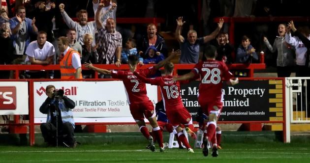 Premier League side Burnley suffer shock League Cup defeat to Accrington Stanley